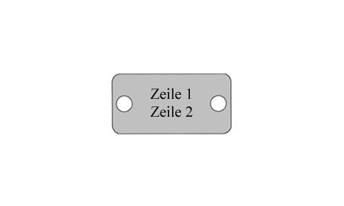 BMK klein - Metall Schilder