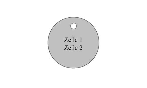 Ronde - Metall Schilder