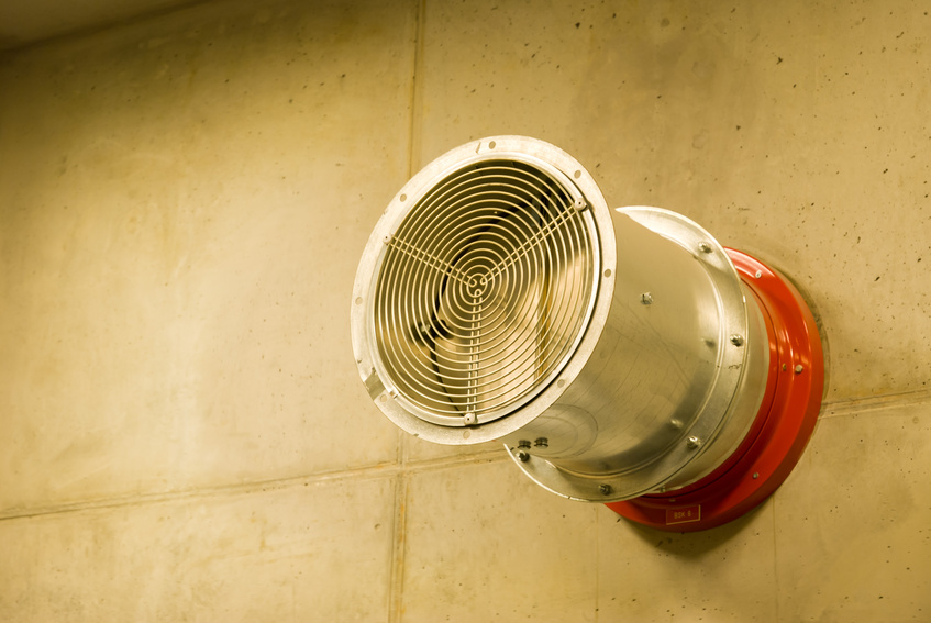 Brandschutzklappe Lüftung